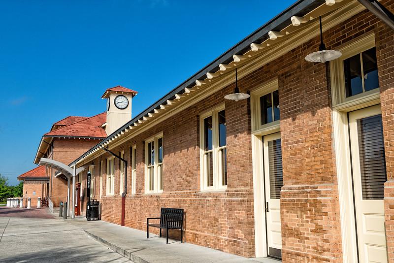 The Hattiesburg Mississippi Railroad Depot