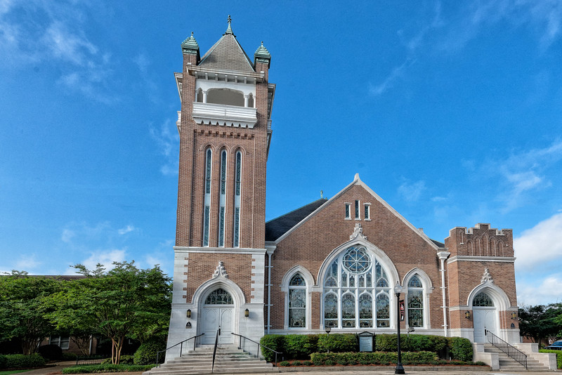 Main Street Methodist Church, Hattiesburg