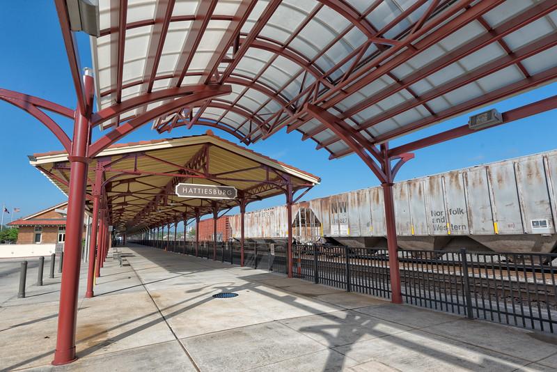 The Hattiesburg Railroad Depot