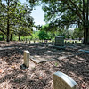 Cemetery on the estate of Jefferson Davis