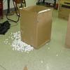 I hate styrofoam peanuts!