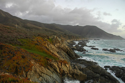 Seascape south of Carmel California