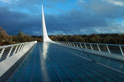 Sundial Bridge near Redding California