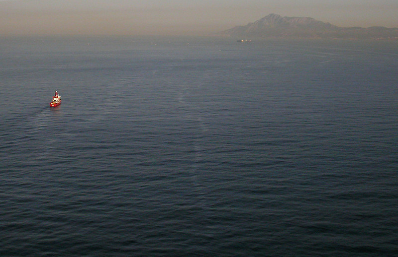 BIO Hesperides in the Gibraltar Strait