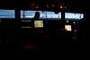 El puente del Hespérides de noche en Antarctic Sound. 6400 ISO.