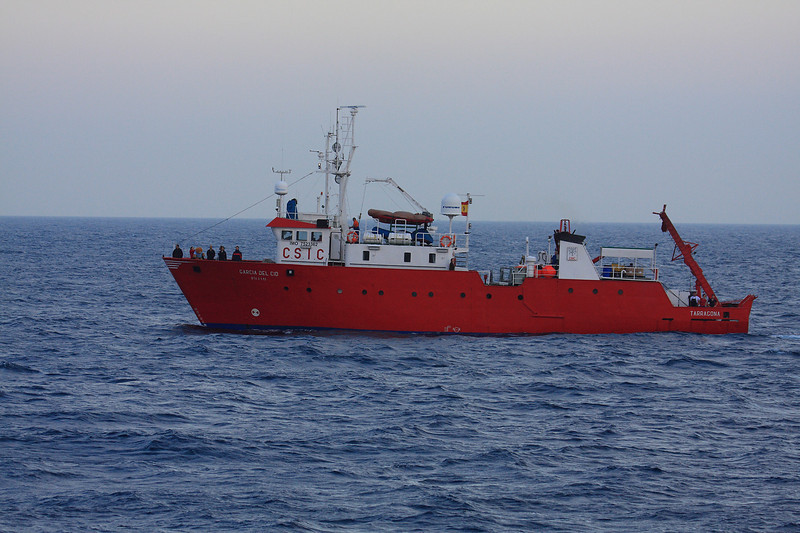 Research vessel Garcia del Cid