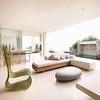 Modern design interior of a living room