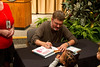 Childrens author, Mo Willems book reading and signing at the National Zoo.