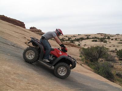 Moab Riding - 7 Mile Rim, April 2009