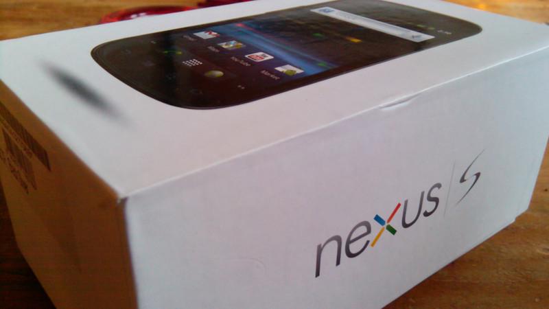 Nexus S in the box