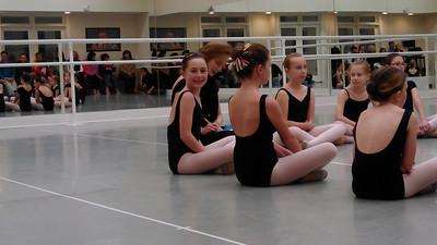 Ballet observation.