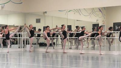 Ballet Class- Spring 2013