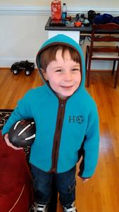 Harrison ready for football