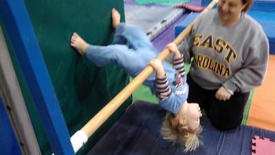 Henry @ gymnastics