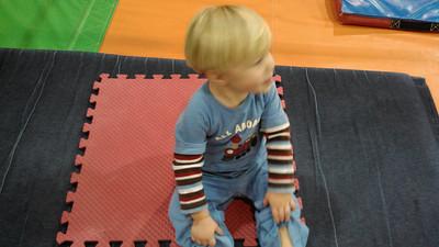 Henry at gymnastics
