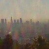 Los Angeles, bathed in morning smog