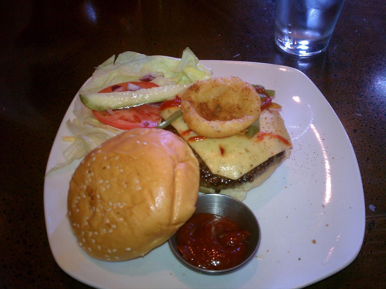 Best burger ever @ FlipSide