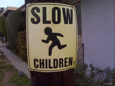 seems like fast children to me