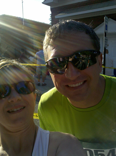 JJ & i before Waxhaw night 5K