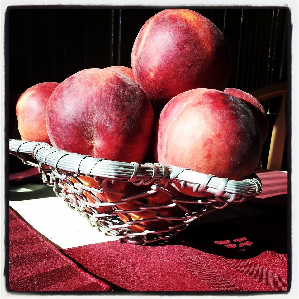 Peaches at Dawn