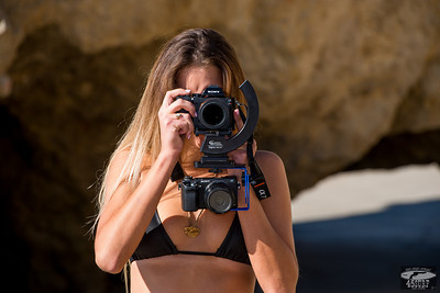 Modeling Sony A7R & 32mm F/2.8 Lens ! Swimsuit Model Goddess Shooting Stills (Sony A7R with 35mm F/2.8 Carl Zeiss) & Video (Sony NEX6)