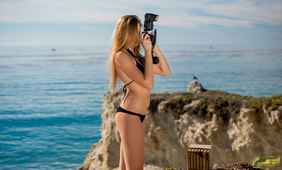 Tall Pretty Model Modeling Sony A7R ! Swimsuit Bikini Model Goddess Shooting Stills (Sony A7R with 35mm F/2.8 Carl Zeiss) & Video (Sony NEX6)