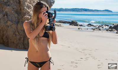 Modeling Sony A7R ! Swimsuit Bikini Model Goddess Shooting Stills (Sony A7R with 35mm F/2.8 Carl Zeiss) & Video (Sony NEX6)