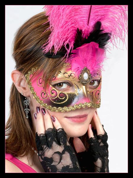 """Erin"" Taken at the Masked Ball Meetup."