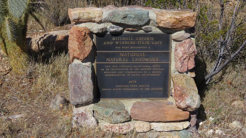 The National Landmark plaque.