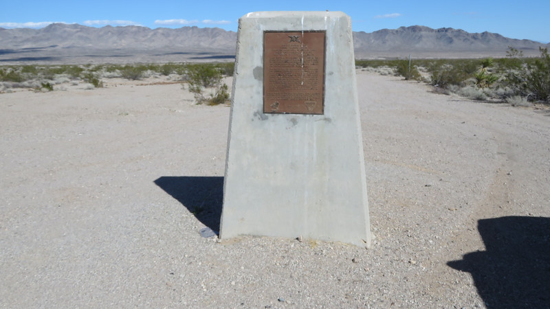 The site of Camp Ibis built in 1942.  It was one used to train soldiers—especially tank crews—for what they could expect in North Africa.