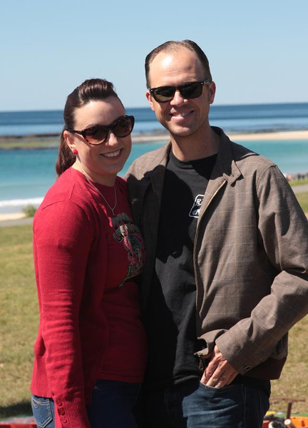 Fliss and Roger at Mollymook