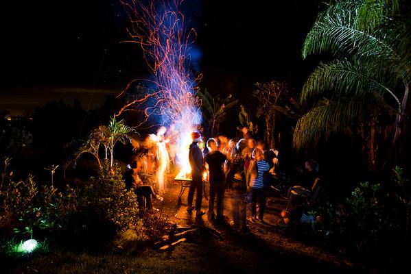 Bonfire friends