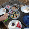 Sushi for a Mommy's Day picnic. Doesn't get much better than that!