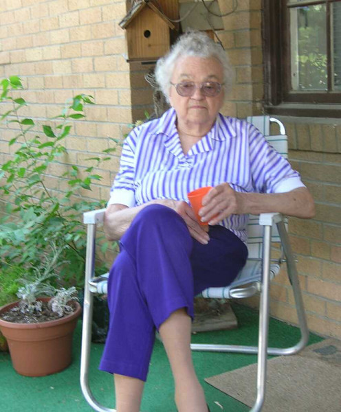 Mom on Front Porch - Mom on Front Porch