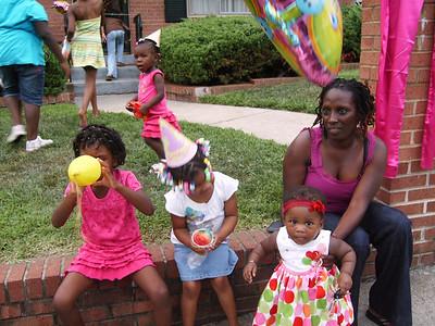 Naailia's Birthday Party, Monday August 10 2009