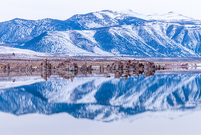 Mono Lake Winter Reflections