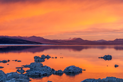 Mono Lake Orange Hour