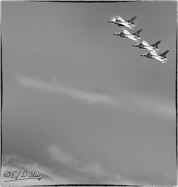 Thunderbirds - 2011 US Air Force Academy Graduation