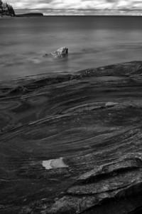 Swirls - Black & White