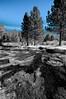 Variation on Lassen National Park, California, March 2012 [Lassen 2012-03 011_BW CA-USA]