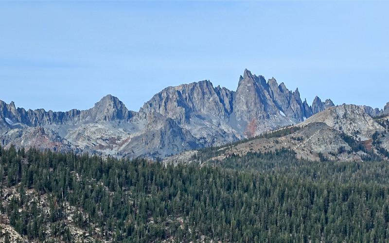 Minarets, Sierra Nevada Mountains