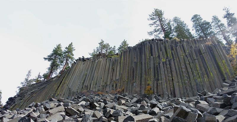 Mammoth Lake's Devils Postpile