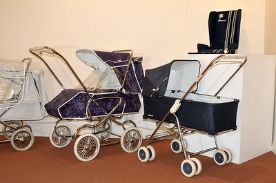 Steelcraft 'Consort' and 'Trio' prams