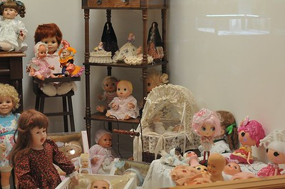 Rare doll collection supplied by local collector 2