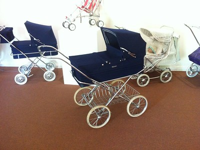 A One-owner English Marmet pram from 1973,  recently aquired in Melbourne.