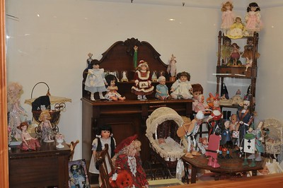 Rare doll collection supplied by local collector