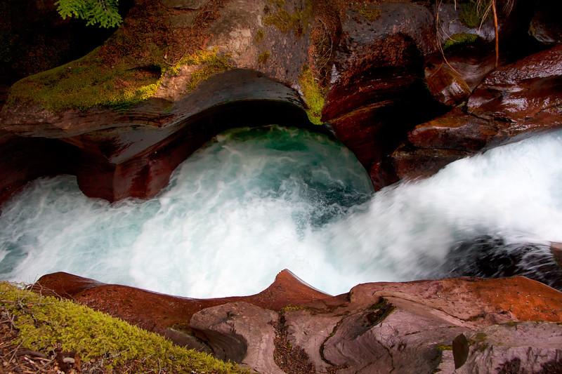 Avalanche Creek, Glacier NP-1