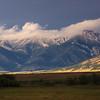 Bridger Mountains -ranch view