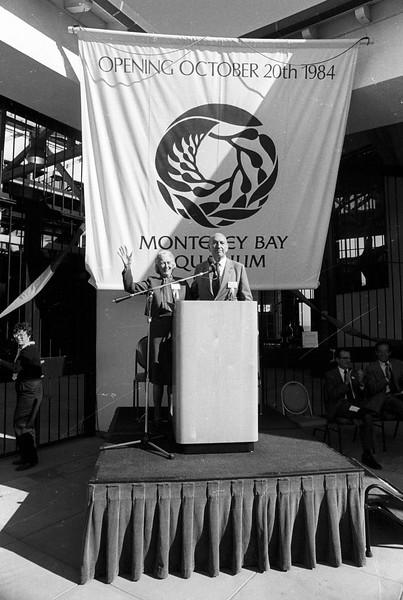 Monterey Bay Aquarium opening