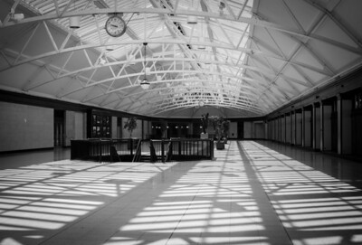 Montreal, Black and white, Gare Windsor, Train Station
